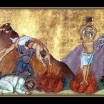 Св. мъченици Карп и Папила и пострадалите с тях