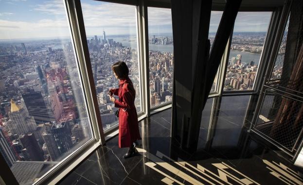 """Снимка: """"Емпайър стейт билдинг"""" отново отваря площадката си за панорамно наблюдение"""