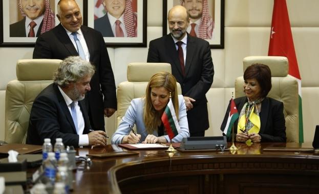 Снимка: България и Йордания засилват сътрудничеството си в туризма и културата
