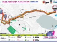 5000 ентусиасти от 50 страни се надпреварват на Софийския маратон