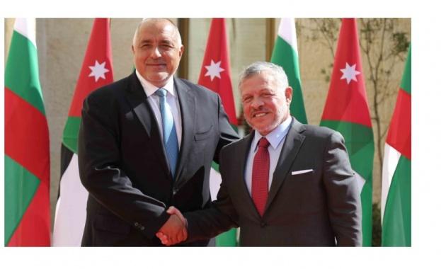 Премиерът Борисов и кралят на Йордания договориха домакинство на България