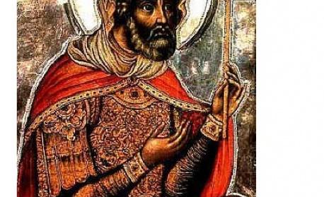 Св. мъченик Лонгин Стотник