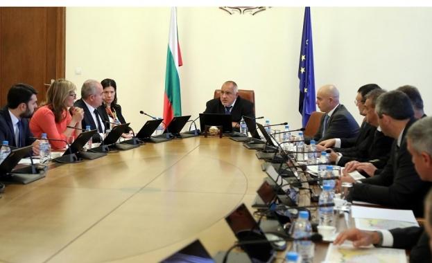Премиерът Бойко Борисов и шефовете на специални служби влязоха при