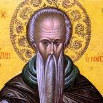Св. преподобни Евтимий Нови
