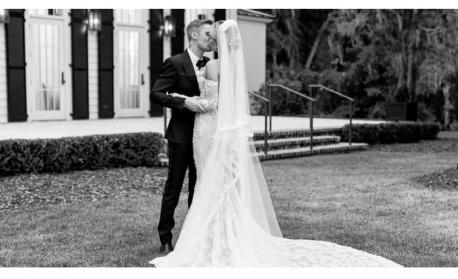 Хейли Бийбър и новата тенденция в сватбените рокли