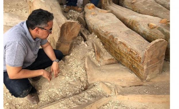 Египетското министерство по въпросите на паметниците на културата оповести, че