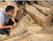 Археолози откриха 20 древни ковчега в Луксор