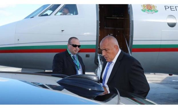 Премиерът Бойко Борисов пристигна в Брюксел, където ще участва в