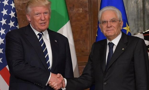 Когато американският президент Доналд Тръмп кани международни лидери в Белия