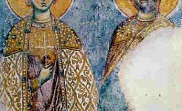Житие на свети мъченик АртемийСлед смъртта на император Константин Велики