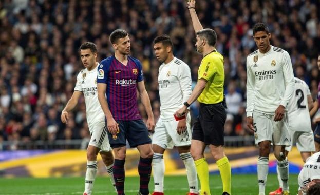 Дербито от 10-и кръг на Ла Лига между Барселона и