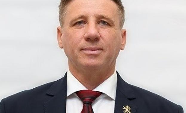 Кандидатът на Възраждане за кмет на София - Николай Дренчев,