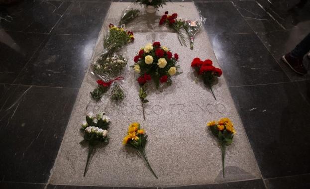 Тленните останки на испанския диктатор ген. Франсиско Франко ще бъдат