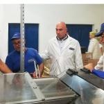 """Николай Тишев се срещна с ръководството и персонала на производствената база на """"Победа"""""""