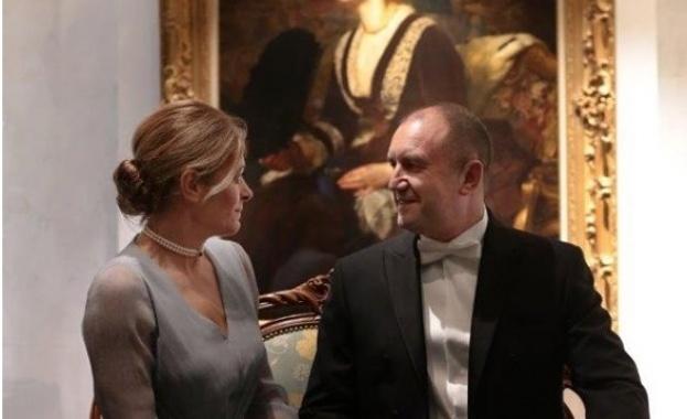 Президентът Румен Радев и неговата съпруга Десислава Радева присъстваха в