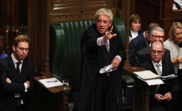 Председателят на Камарата на общините на британския парламент Джон Бъркоу