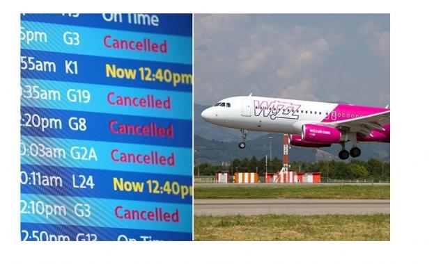 Снимка: Възможно е забавяне или промяна в полетите на Wizz Air до и от Италия заради стачка