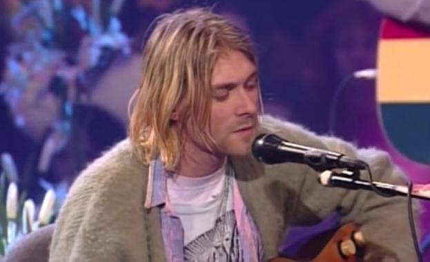 Жилетка, носена от Кърт Кобейн по време на концерта на