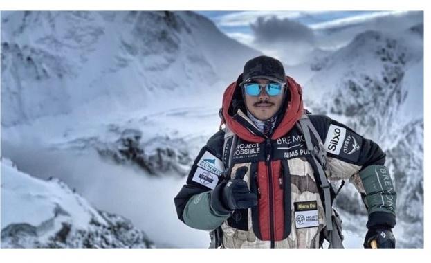 Снимка: Нирмал Пурджа влезе в историята с изкачването на всички осемхилядници за 190 дни