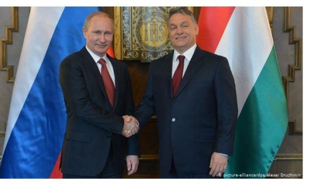 Руският президент Владимир Путин ще посети Будапеща днес и ще