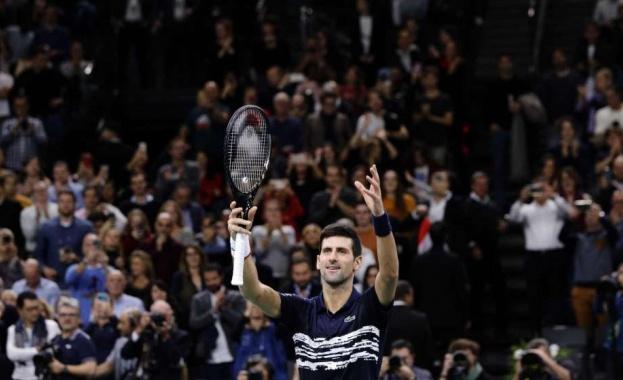 Новак Джоокович спечелит титлата от турнира в Париж за пети