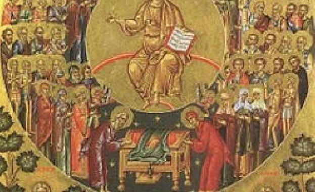 Преп. Лазар бил роден в Магнезия (Мала Азия). Той рано