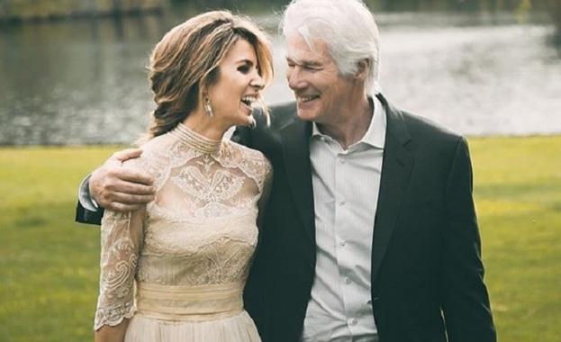 На 70 години Ричард Гиър очаква второ дете от съпругата си