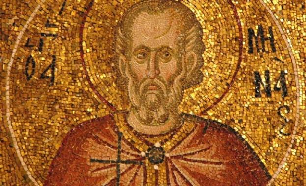 Свети мъченик Мина бил египтянин. Той изповядвал християнската вяра и