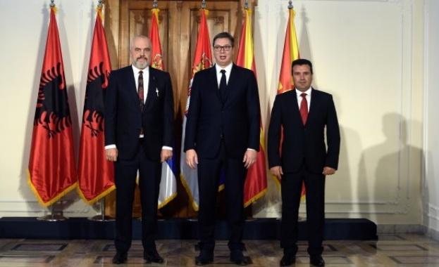 Среща на върха на лидерите на Северна Македония, Сърбия и
