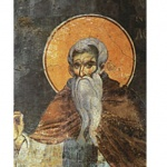 Св. преподобни Нил Постник от Синай, ученик на св. Йоан Златоуст