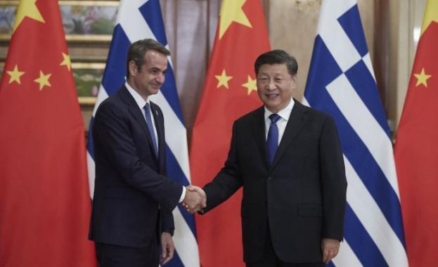Атина и Пекин подписаха 16 междуправителствени споразумения