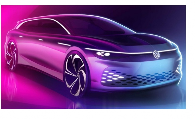 Снимка: Volkswagen показа бъдещето на комбитата
