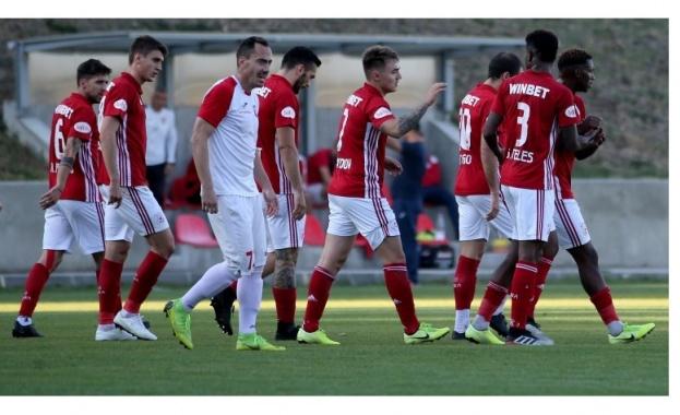 Приятелският мач между ЦСКА и Арис (Солун) в събота ще