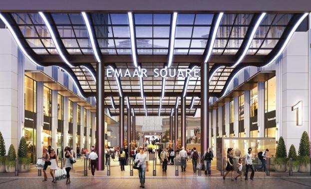 Снимка: Мол за $2 млрд. и новата най-висока сграда в света в Дубай