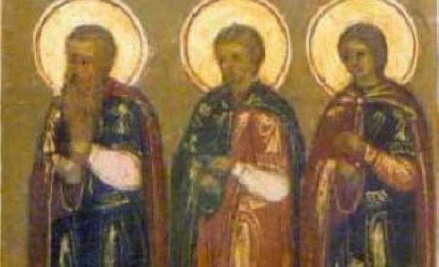 Св. Гурий и Самон пострадали в гр. Едеса във време