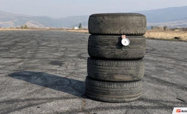 Снимка: Защо никога да не редите гумите на купчина в гаража?