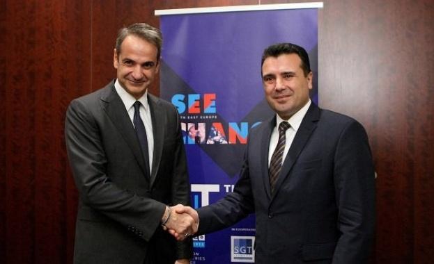 В разговор с премиера на Северна Македония Зоран Заев гръцкият