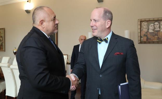 Министър-председателят Бойко Борисов се срещна с помощник държавния секретар в