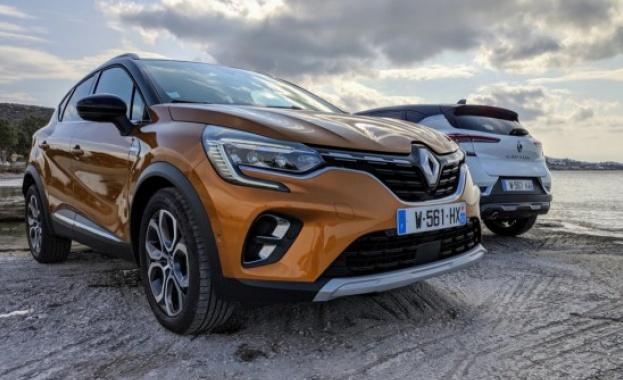 Снимка: Новото Renault CAPTUR/видео/