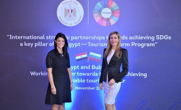 Министърът на туризма Николина Ангелкова проведе работна среща с министъра