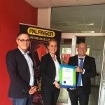 Палфингер Продукционстехник България ЕООД получи сертификат за зелена енергия