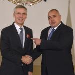 Борисов проведе телефонен разговор с генералния секретар на НАТО Йенс Столтенберг