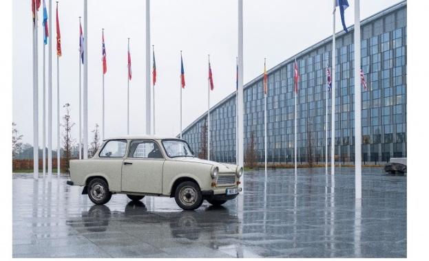 Един от символите на НАТО в България безспорно е трабантът