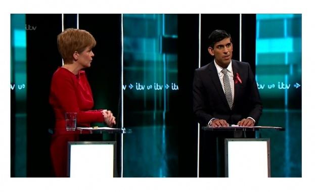 Лидери на водещите политически партии на Обединеното кралство се сблъскаха