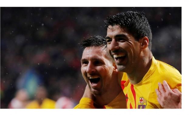 "Меси изведе ""Барселона"" до успех в сблъсъка с ""Атлетико"""