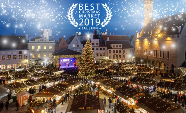 Талин е прекрасна дестинация преди или по време на коледно-новогодишните