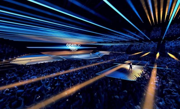 Снимка: Представиха дизайна на сцената на Евровизия 2020