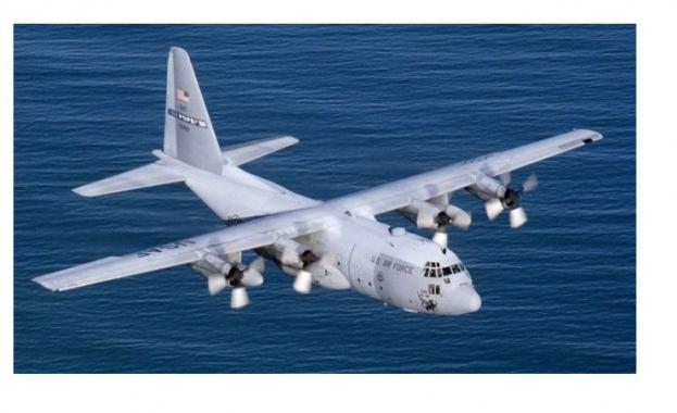 Чилийските военновъздушни сили заявиха, че транспортен самолет C-130