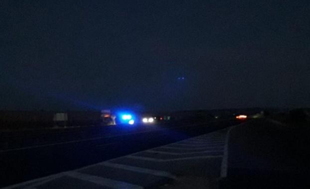 Автомобилът е ударил 14-годишно дете, което пресичало бул.