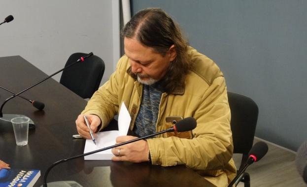 """Нидал Алгафари представи най-новия си роман """"Рано или късно"""""""